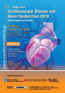 11th Symposium Cardiovascular Disease and Renal Dysfunction 2019 with international participation
