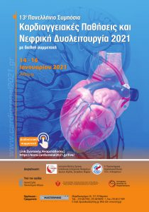13th Symposium Cardiovascular Disease and Renal Dysfunction 2021 with international participation